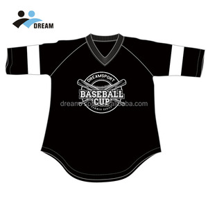Polyester Customized Sizes Infant Baseball Jersey