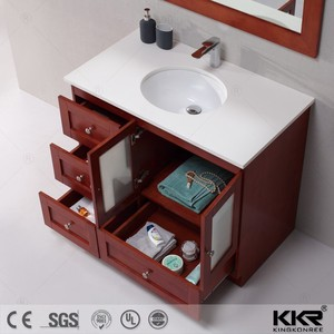 acrylic solid surface modern 32 inch hotel bathroom vanities
