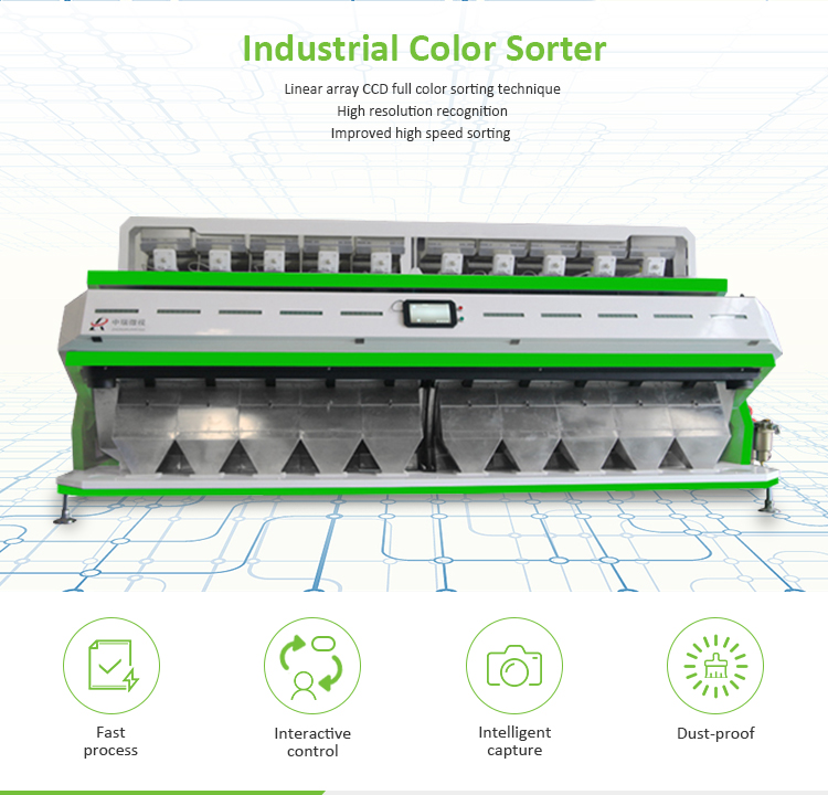 Good quality industry grade metal,plastic color sorter machine price