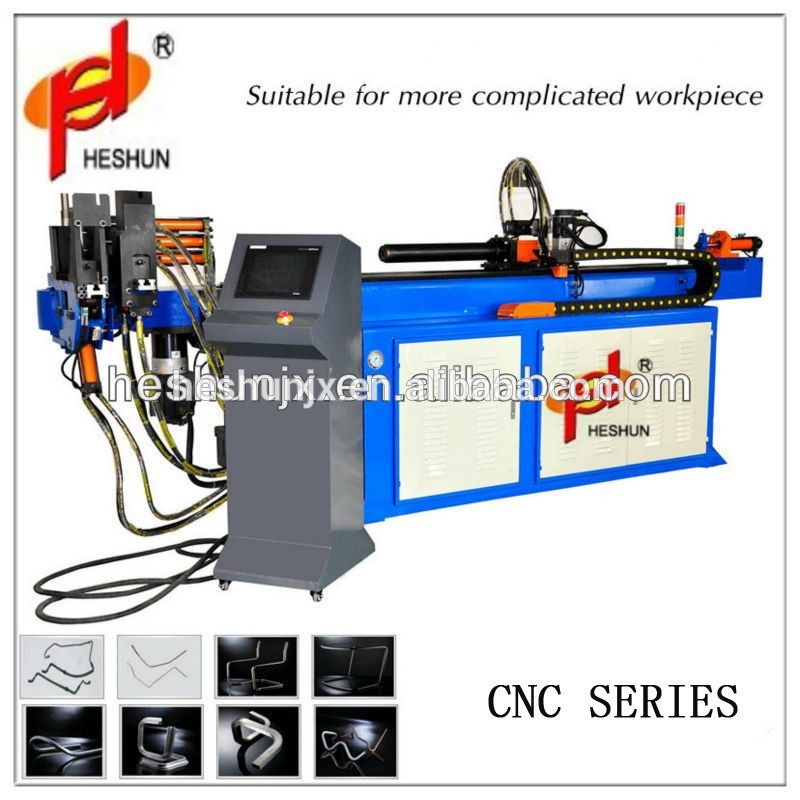 Exported a wide range CNC Single head steel pipe bender wheels with high quality
