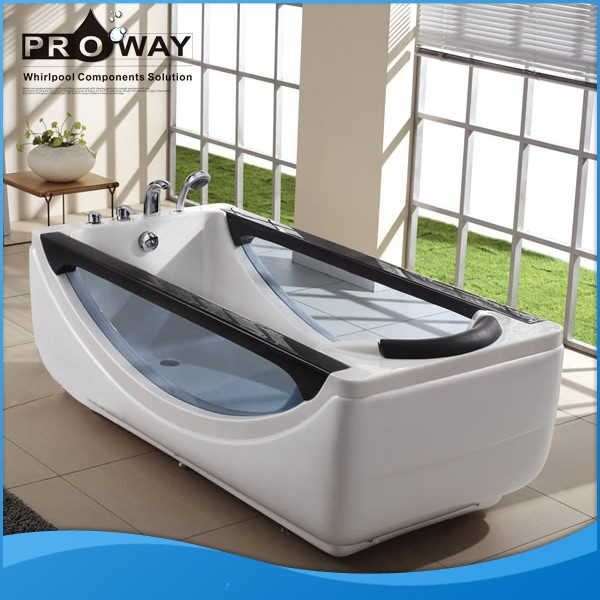proway mat riau acrylique baignoire de massage bain. Black Bedroom Furniture Sets. Home Design Ideas