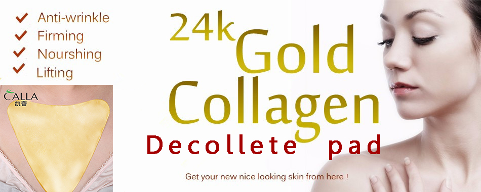 Gold Collagen Anti Wrinkle Chest Golden Decollete Pad