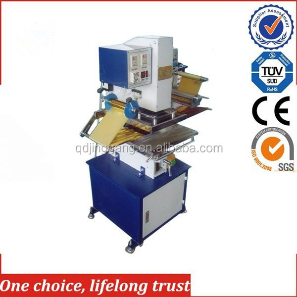 TJ-9 Pneumatic hot foil stamping machine for Clothes Rack