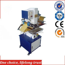 Tj-9 neumático hot foil stamping machine for clothes rack