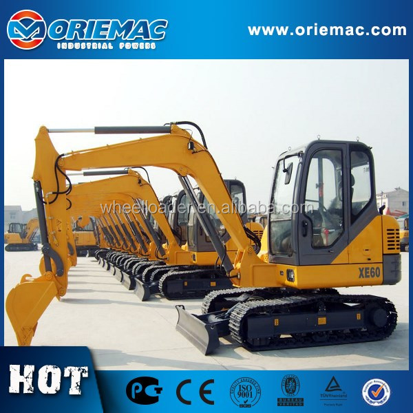 New 6 Ton Hydraulic Small Excavator XE60D