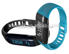 Wholesale popular sport pedometer fitness band bluetooth bracelet
