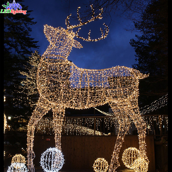 outdoor led decoratieve giant kerstverlichting rendier