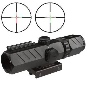 Buy Aim Tactical 2 6x32 Compact Dual Color Redgreen Illuminated