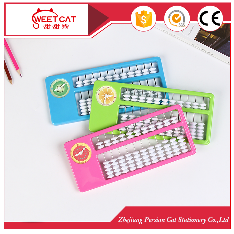 11 rods colorful plastic student abacus soroban