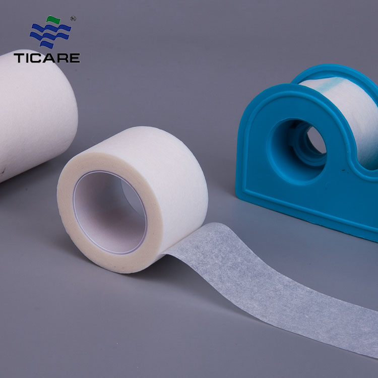 Medical disposables adhesive perforated clear tape surgical Transparent PE Tape