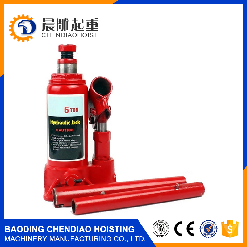 3 ton 12 volt mini Bottle electric inflatable car hydraulic jack