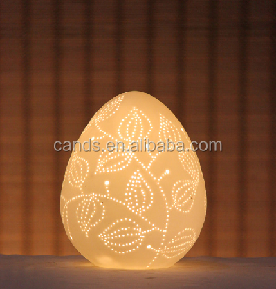 Egg Shape Energy Saving Porcelain Decorative Light Glass Bead Lamp ...
