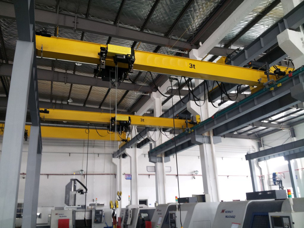 Over Head Cranes : Overhead bridge cranes double girder electric