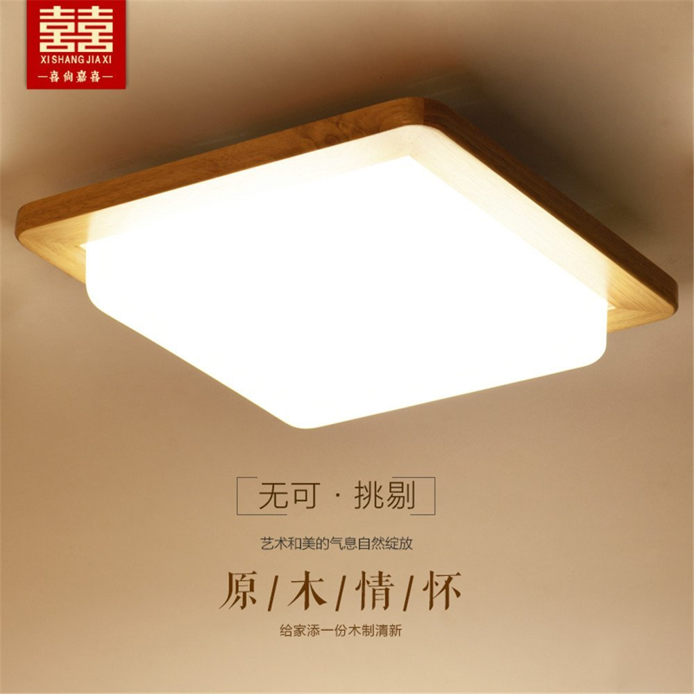 Get Quotations Modern Led Pendant Flush Mount Ceiling Fixtures Light Lamps Solid Wood Simple Lights