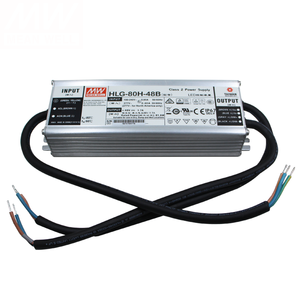 HLG-80H-15D Meanwell Led Transformer Driver Supply 80W 15V 5A LED Driver Supply Waterproof IP67