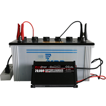 Automatically 7 stage car battery charger 12V lead-acid LED