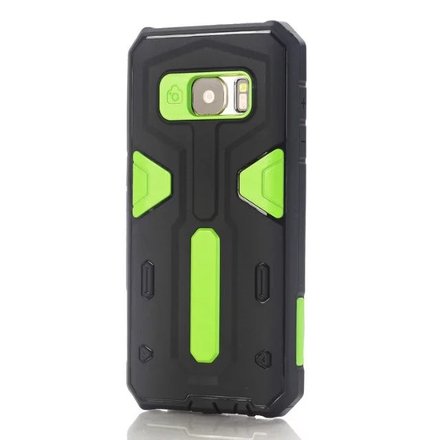 Hard&Soft Rubber Hybrid Armor Impact Defender Skin Cover case for Samsung galaxy s7, S7 edge, iphone 6