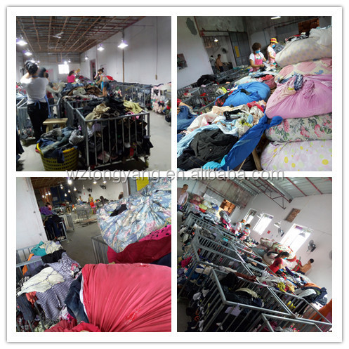 add50746776 second hand clothing in bales container of used clothes clothing  manufacturers