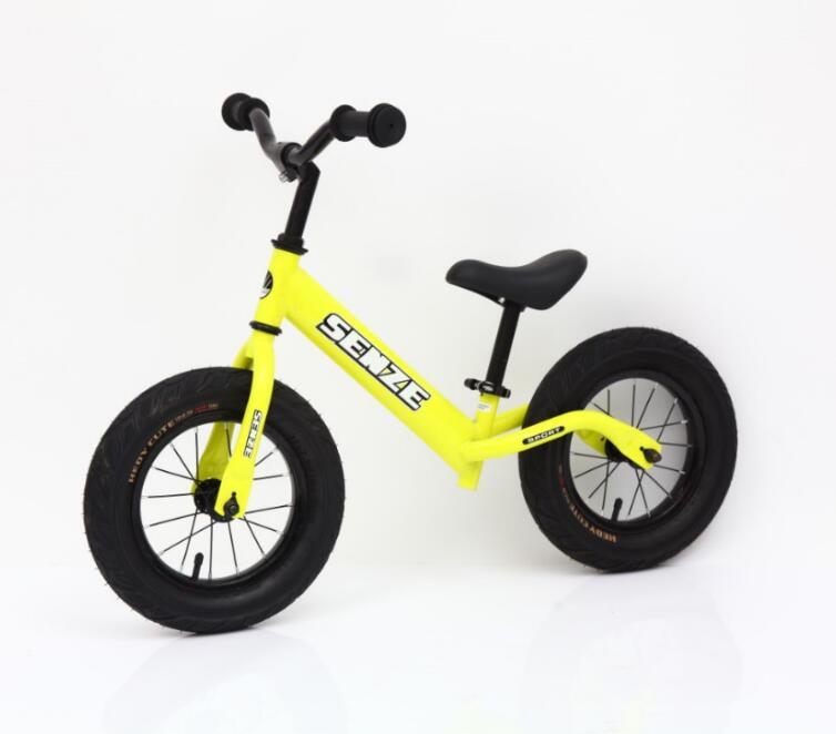 Children yellow balance bicycle (SZB009)