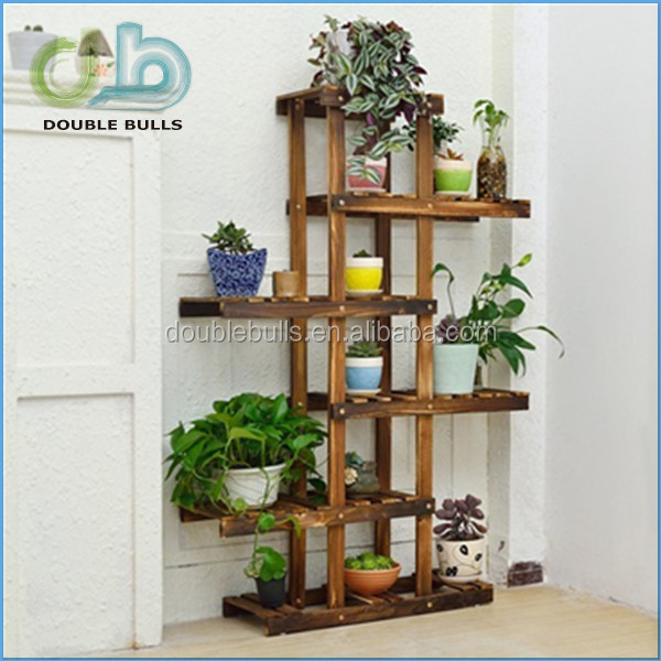 Customwholesale Fold 3 Layers Wooden Indoor Flower Pot Stand Buy