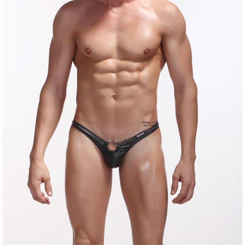 Mens Leather Thongs 55