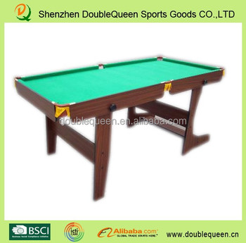 6ft Folding Pool Table/billard Table With Green Cloth