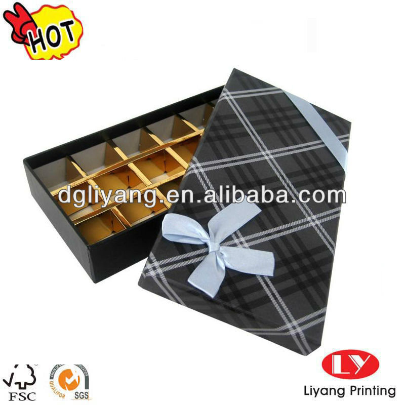 Hot Selling Sweet Chocolate Packing gift Box for holiday