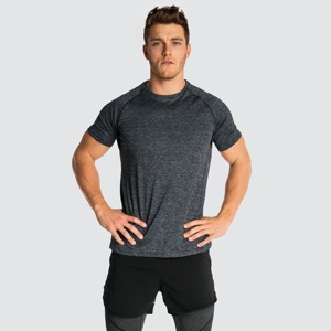 new custom made clothing plain blank seamless t-shirts gym mens clothing T-shirts