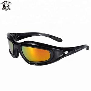 d730bb86b1616 China Shenzhen C5 polarized UV400 protection daisy hunting tactical  military eyewear army airsoft goggle wargame glasses