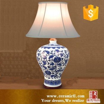 Hot Sale Chinese Handmade Ceramic Body Table Lamps For Living Room ...