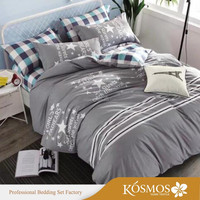 KOSMOS bedding set bed walmart bedspreads bedding 100% cotton custom printed bedding sets bed sheets