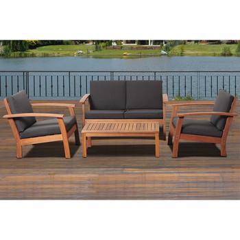 4 Seat Arabic Teak Wood Divan Living Room Furniture Wooden Sofa Set Designs Part 44