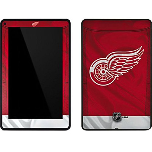 NHL Detroit Red Wings Kindle Fire Skin - Detroit Red Wings Home Jersey Vinyl Decal Skin For Your Kindle Fire