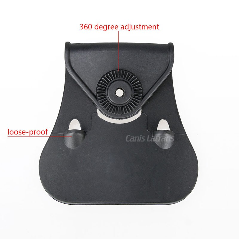 Black Plastic Tactical Gun Holster/Tactical Equipment G17 holster
