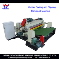 Veneer Peeling and Clipping Machine/ Plywood Machine