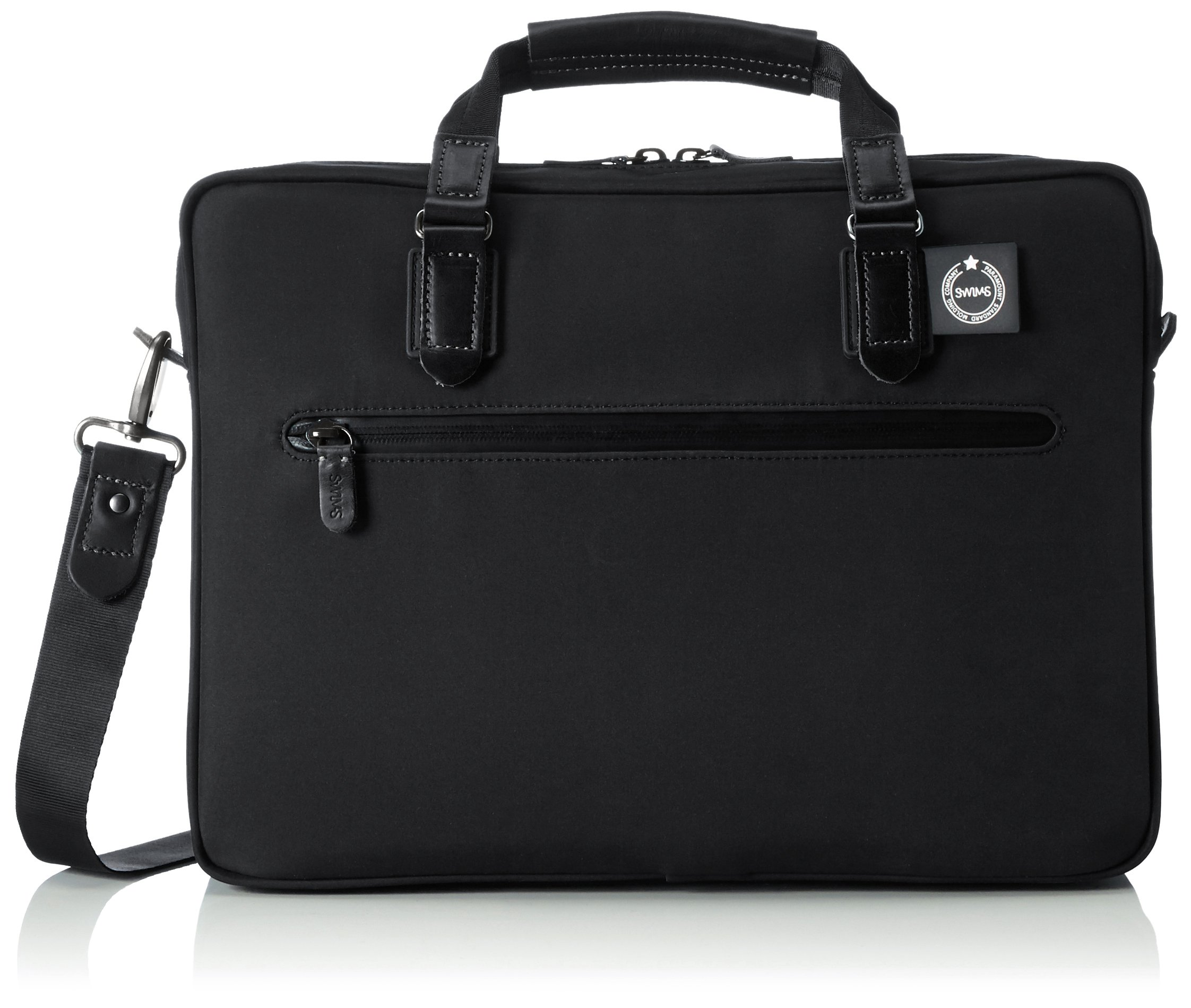SWIMS 15.6 Inch Business Office Attache Fashionable Briefcase Computer Bag for Stylish Men Women - For Laptop/ iPad/ Tablet/ MacBook/ Acer/ HP/ Dell/ Lennovo - Water Proof & Resistant