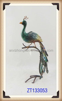 Peacock Garden Ornament