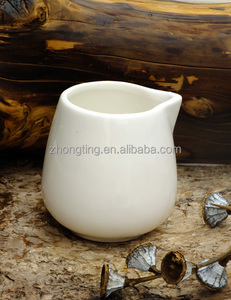 pottery and porcelain milk ceramic flower pot