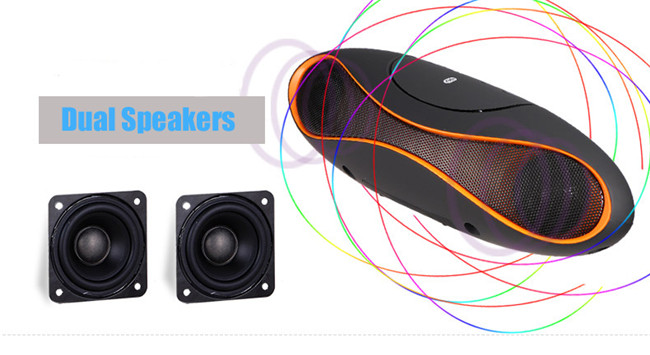 America Football Speakers cheap wireless bluetooth with HI FI small size for Samsung S6