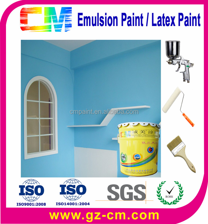Best Waterproof Latex decorative Interior Home Paint Colors