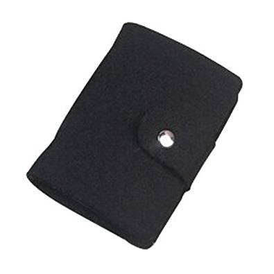 Card Holder - TOOGOO(R) Vintage Womens Pouch ID Credit Card Wallet Cash Holder Organizer Case Box Pocket, card holder, Black