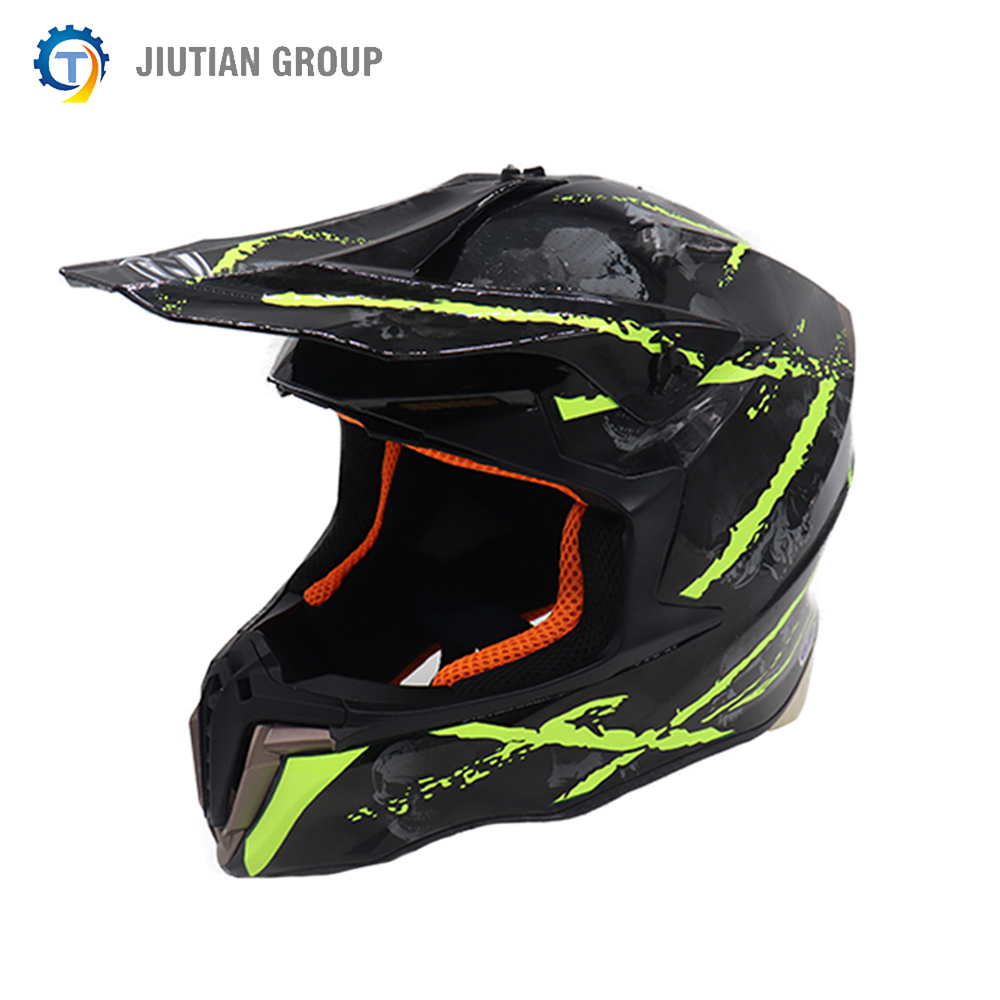 DOT Approved Full Face Helmet Motorbike Riding Helmets