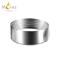 Morezhome high quality Adjustable stainless steel Mousse Cake Slicer Kit