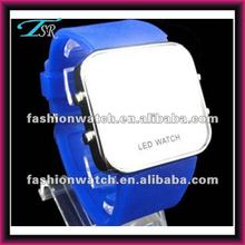HOT SALE !!! china made MOQ 100 pcs teens multicolor mirror factory cheap digital led watch