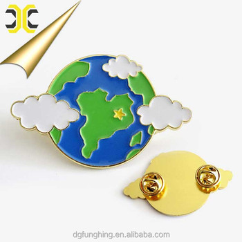 factory direct sale personalized hard enamel lapel pin