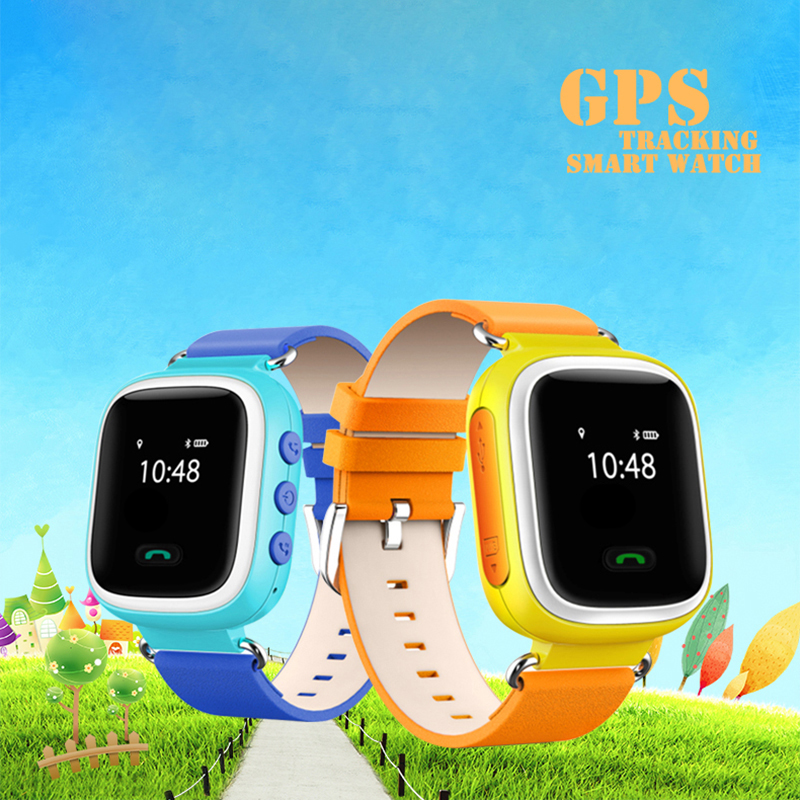2016 100% new gps child tracking watch wristwatch bracelet for kids children app for iphone ios android samsung xiaomi