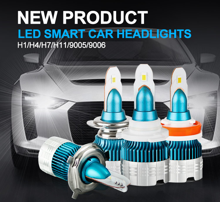 FREE SAMPLE mi2 9005 9006 h1 h3 h4 h7 h11 motorbike auto led headlight