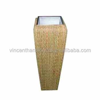 Home Decoration Flower Display Tall Floor Wicker Vase Buy Home