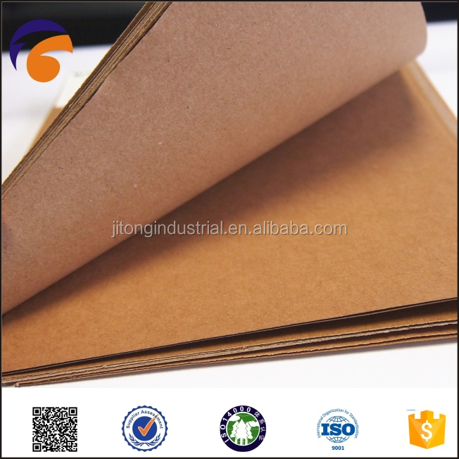 New product the raw materials 2015 paper stocklot business card kraft liner paper