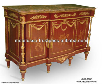 Great Commode Louis Xvi Antique French Furniture, Reproduction French Antique  Sideboard